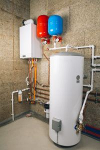 Tankless coil water heater